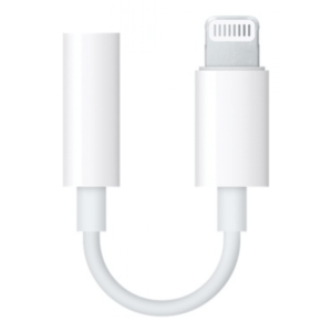 Переходник Apple Lightning to 3.5 mm Headphone Jack Adapter (MMX62) - ТвойGadget