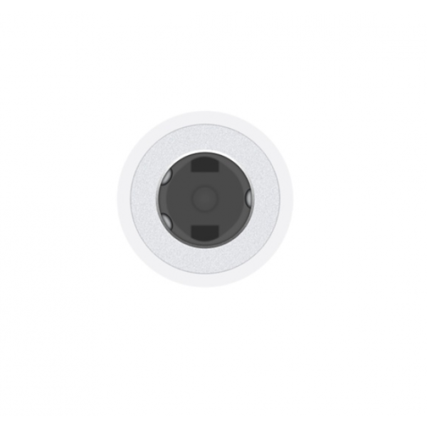 Переходник Apple Lightning to 3.5 mm Headphone Jack Adapter (MMX62) - ТвойGadget