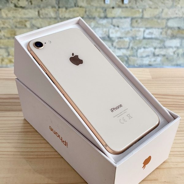 Apple iPhone 8 256 GB Gold (MQ7H2) Б/У состояние – А - ТвойGadget