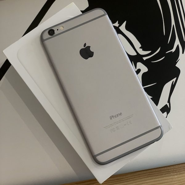 Apple iPhone 6 Plus 64 GB Space Gray; состояние – А - ТвойGadget