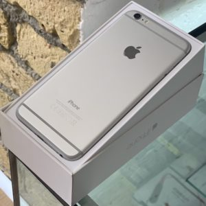Apple iPhone 6 Plus 16 GB Silver; состояние – А - ТвойGadget