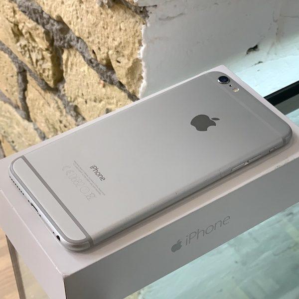Apple iPhone 6 Plus 16 GB Silver Б/У состояние – А - ТвойGadget