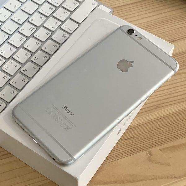 Apple iPhone 6 Plus 64 GB Silver Б/У состояние – А - ТвойGadget