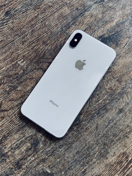 Apple iPhone X 256 GB Silver (MQAG2) ; состояние – А - ТвойGadget