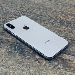 Apple iPhone X 64 GB Silver (MQAD2); состояние – А - ТвойGadget