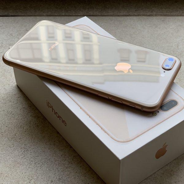 Apple iPhone 8 Plus 256 GB Gold (MQ8J2) Б/У состояние – А - ТвойGadget