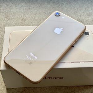 Apple iPhone 8 256 GB Gold(MQ7H2) Б/У состояние – А - ТвойGadget