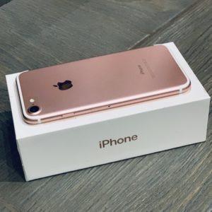 Apple iPhone 7 128 GB Rose Gold (MN952) Б/У состояние – А - ТвойGadget