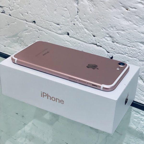 Apple iPhone 7 32 GB Rose Gold (MN912) ; состояние – А - ТвойGadget