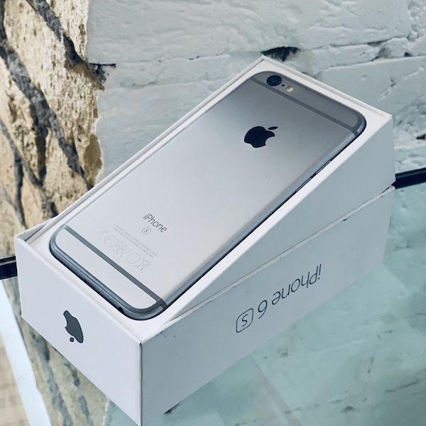 Apple iPhone 6s 16 GB Space Gray (MKQ2J) ; состояние – А - ТвойGadget