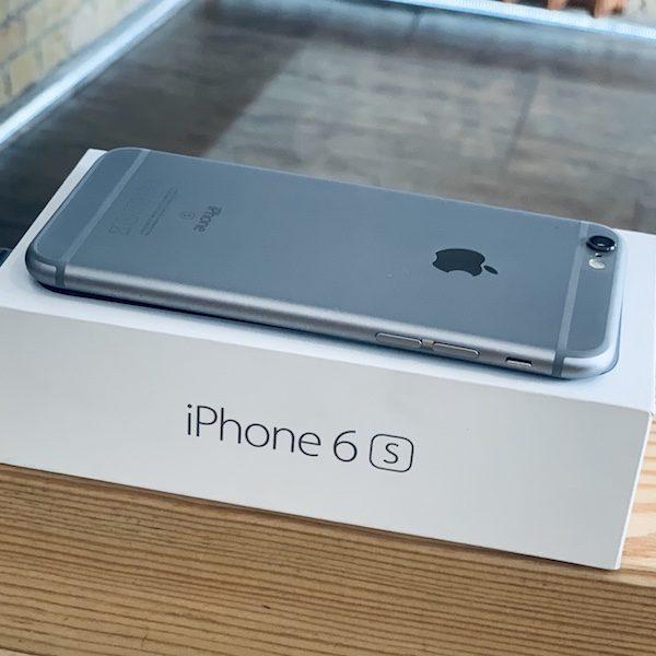 Apple iPhone 6s 128 GB Space Gray (MKQT2) ; состояние – А - ТвойGadget
