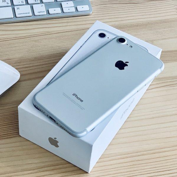Apple iPhone 7 256 GB Silver (MN892) Б/У состояние – А - ТвойGadget