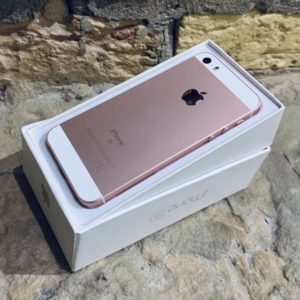 Apple iPhone SE 16 GB Rose Gold (MLXN2) ; состояние – А - ТвойGadget