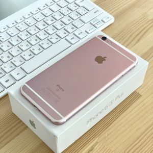 Apple iPhone 6s Plus 64 GB Rose Gold (MKU92) Б/У состояние – А - ТвойGadget