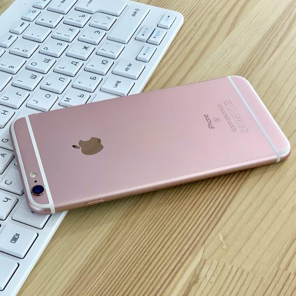 Apple iPhone 6s Plus 128 GB Rose Gold (MKUG2) ; состояние – А - ТвойGadget