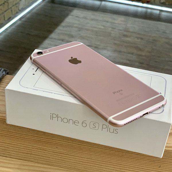 Apple iPhone 6s Plus 64 GB Rose Gold (MKU92) ; состояние – А - ТвойGadget