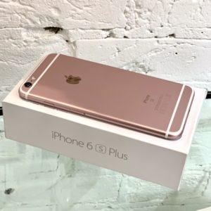 Apple iPhone 6s Plus 16 GB Rose Gold (MKU52) Б/У состояние – А - ТвойGadget
