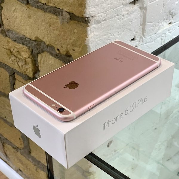 Apple iPhone 6s Plus 32 GB Rose Gold (MN2Y2) Б/У состояние – А - ТвойGadget