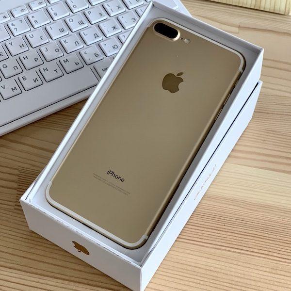 Apple iPhone 7 Plus 256 GB Gold (MN4Y2) Б/У состояние – А - ТвойGadget