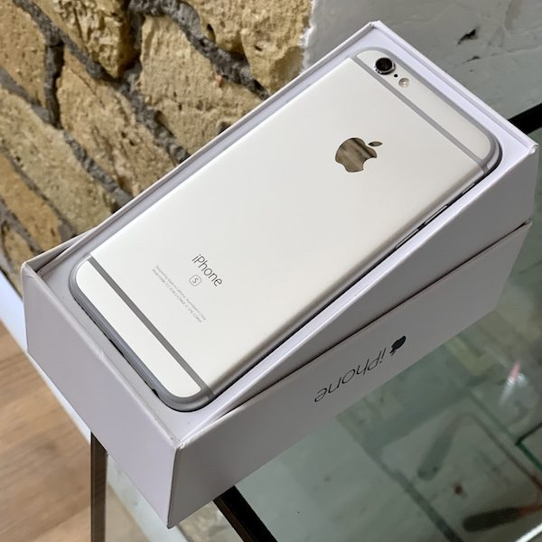 Apple iPhone 6s 128 GB Silver (MKQU2) Б/У состояние – А - ТвойGadget