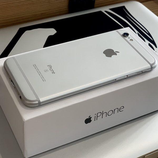 Apple iPhone 6s 16 GB Silver (MKQK2) Б/У состояние – А - ТвойGadget