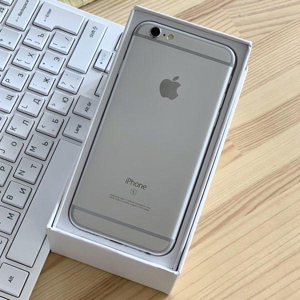 Apple iPhone 6s 32 GB Silver (MN0X2) Б/У состояние – А - ТвойGadget