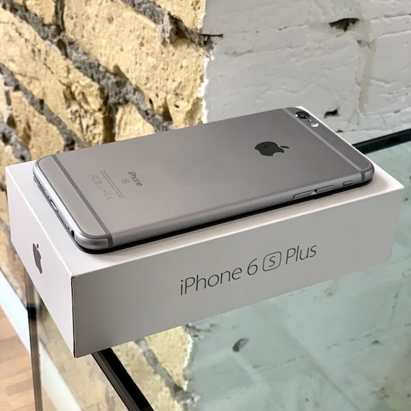 Apple iPhone 6s Plus 128 GB Space Gray (MKUD2) Б/У состояние – А - ТвойGadget