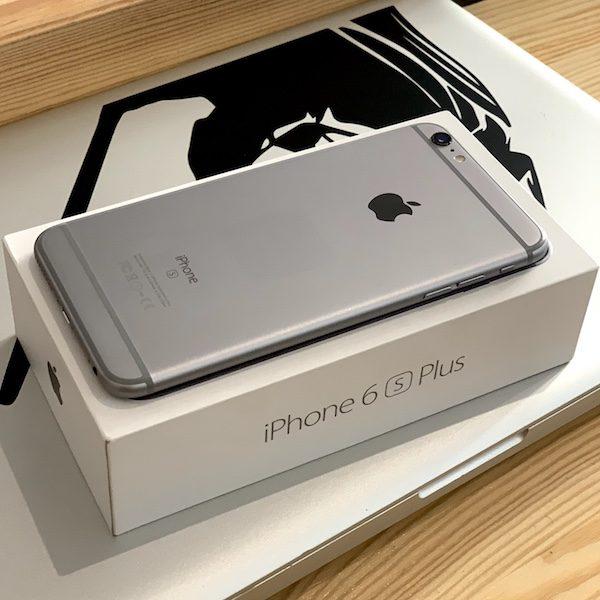 Apple iPhone 6s Plus 64 GB Space Gray (MKU62) Б/У состояние — А - ТвойGadget