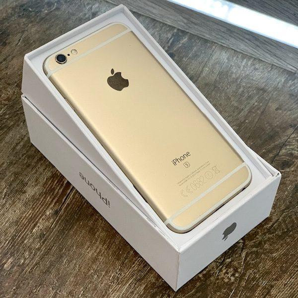 Apple iPhone 6s 64 GB Gold (MKQQ2) Б/У состояние – А - ТвойGadget