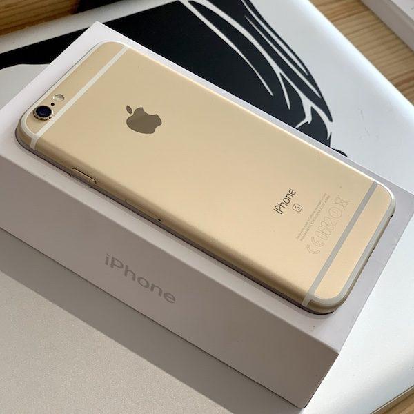 Apple iPhone 6s 128 GB Gold (MKQV2) Б/У состояние – А - ТвойGadget