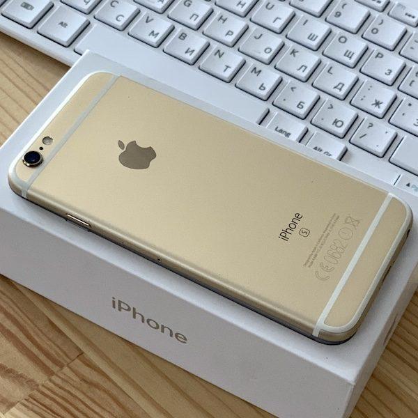 Apple iPhone 6s 16 GB Gold (MKQM2) ; состояние – А - ТвойGadget