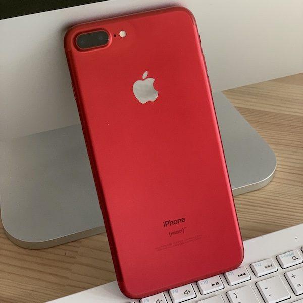 Apple iPhone 7 Plus 256 GB Red (MPR62) Б/У состояние – А - ТвойGadget
