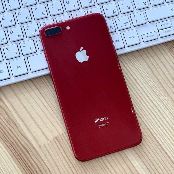 Apple iPhone 8 Plus 256 GB Red (MRT82) Б/У состояние – А - ТвойGadget