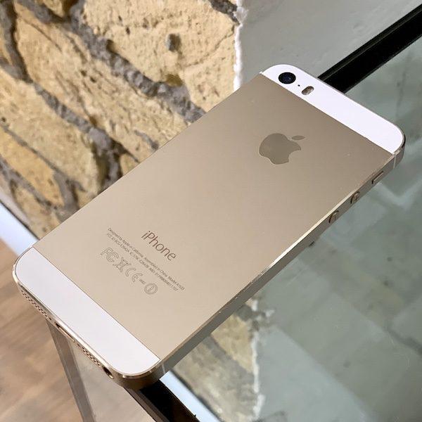 Apple iPhone 5s 16 GB Gold Б/У состояние – А - ТвойGadget