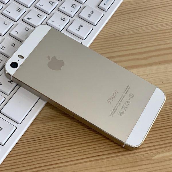 Apple iPhone 5s 64 GB Gold Б/У состояние – А - ТвойGadget
