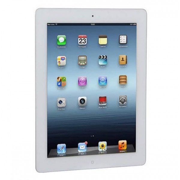 Apple iPad 4 16 gb WI-FI + LTE White (б/у) - ТвойGadget