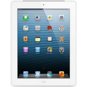 Apple iPad 4 16 gb WI-FI White; (б/у) - ТвойGadget