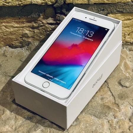 Apple iPhone 8 Plus 256 GB Silver (MQ8H2) Б/У состояние — А - ТвойGadget