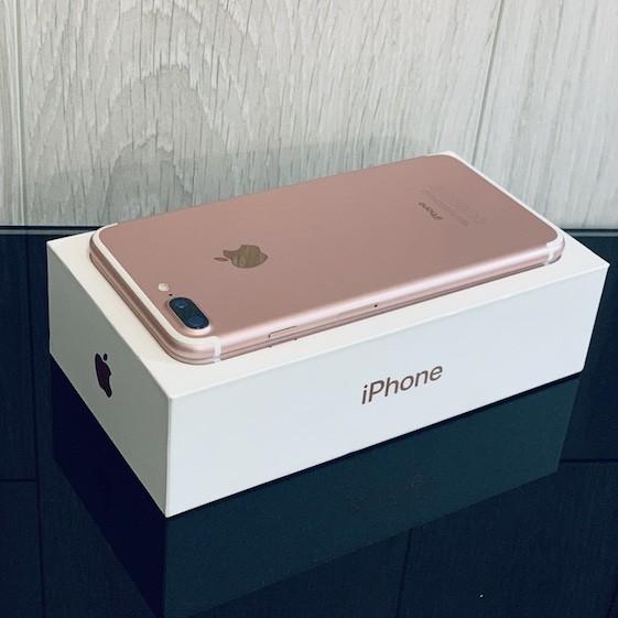 Apple iPhone 7 Plus 128 GB Rose Gold (MN4U2) Б/У состояние – А - ТвойGadget