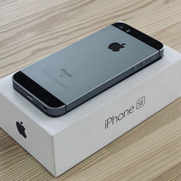 Apple iPhone SE 32 GB Space Gray (MP822) ; состояние – А - ТвойGadget