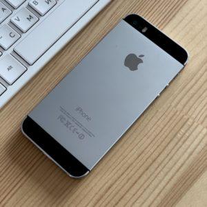Apple iPhone 5s 16 GB Space Gray; состояние – А - ТвойGadget