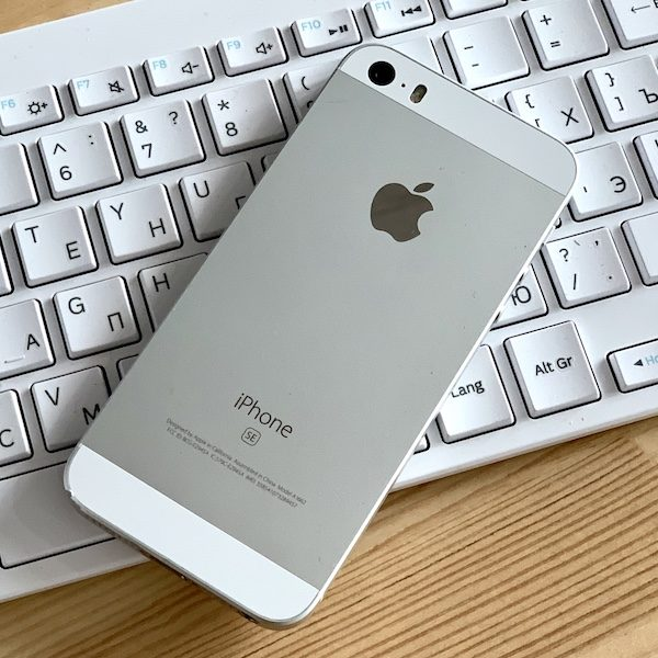 Apple iPhone SE 128 GB Silver (MP872) Б/У состояние – А - ТвойGadget