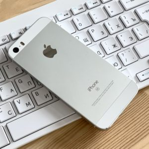 Apple iPhone SE 128 GB Silver (MP872) ; состояние – А - ТвойGadget