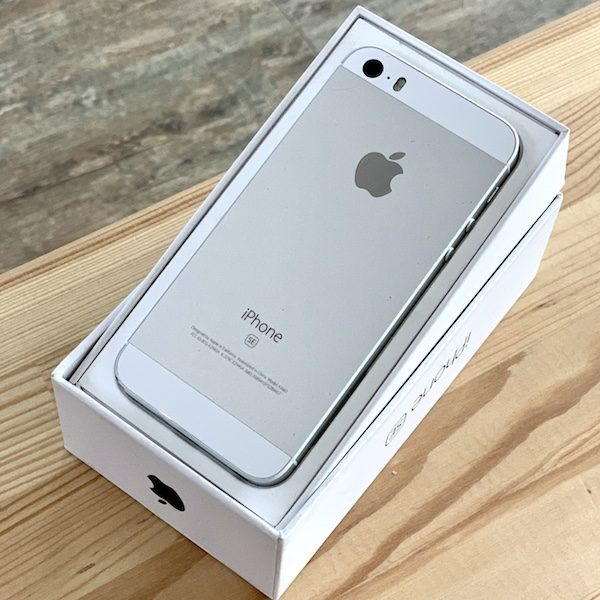 Apple iPhone SE 32 GB Silver (MP832) Б/У состояние – А - ТвойGadget