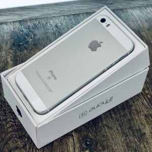 Apple iPhone SE 64 GB Silver (MLM72) ; состояние – А - ТвойGadget
