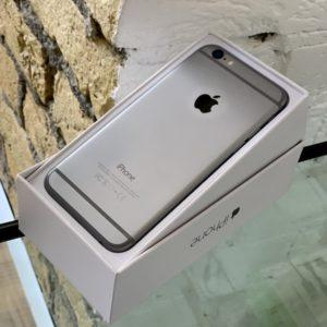 Apple iPhone 6 64 GB Space Gray; состояние – А - ТвойGadget