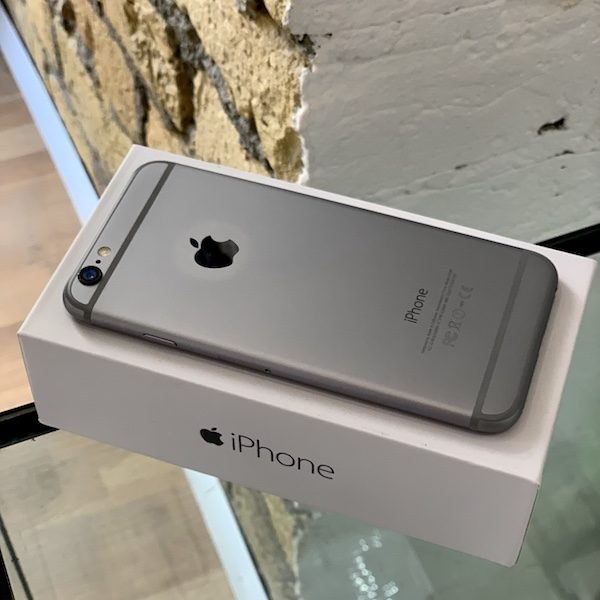 Apple iPhone 6 64 GB Space Gray Б/У состояние — А - ТвойGadget