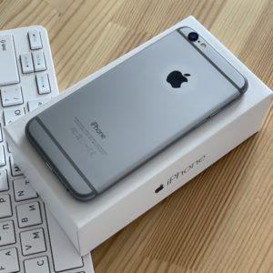 Apple iPhone 6 32 GB Space Gray; состояние – А - ТвойGadget