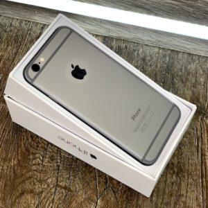 Apple iPhone 6 16 GB Space Gray; состояние – А - ТвойGadget