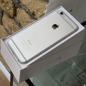 Apple iPhone 6 128 GB Silver; состояние – А - ТвойGadget
